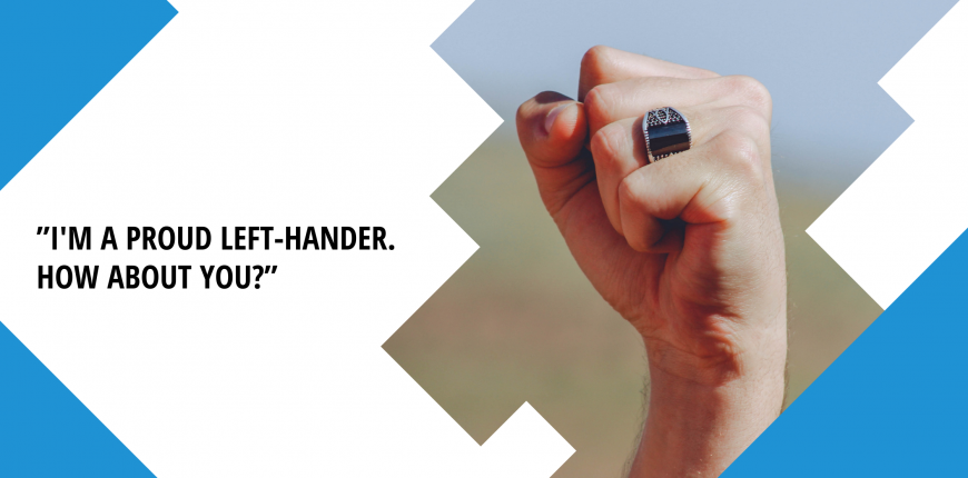 Left-handers are special
